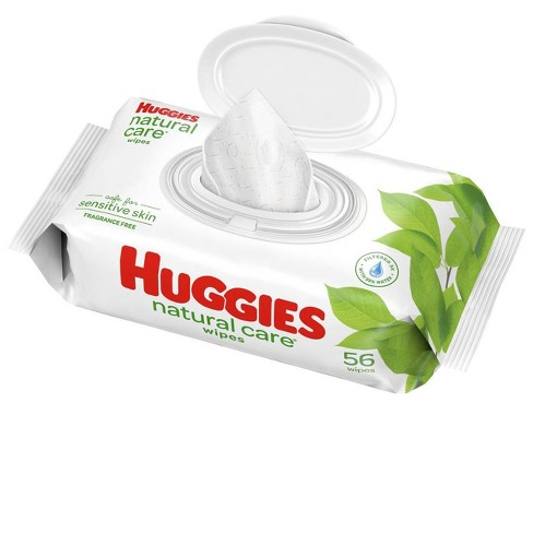 Huggies Natural Care Baby Wipes Unscented - 56ct - image 1 of 4