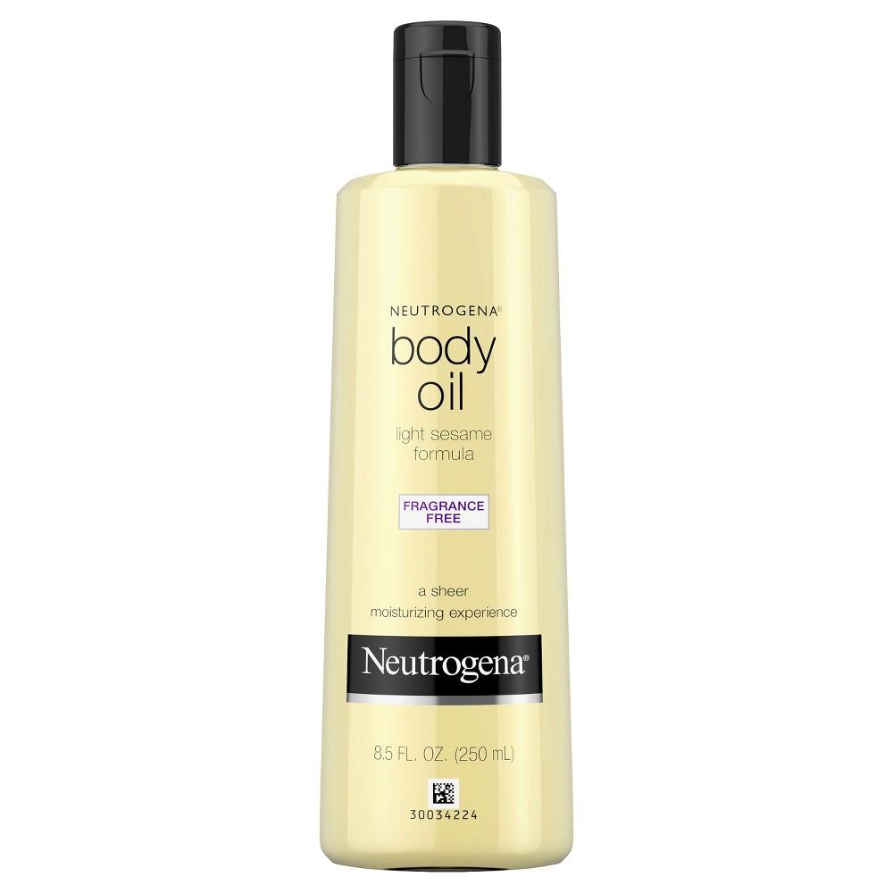 Neutrogena Moisturizing Light Sesame Body Oil, Fragrance-...