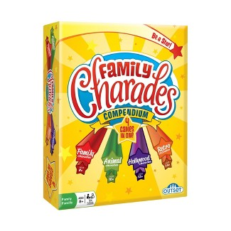 Family Charades Compendium Game : Target