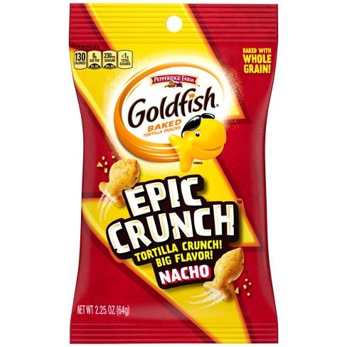Goldfish Epic Crunch Nacho Grab Bag - 2.25oz - image 1 of 6