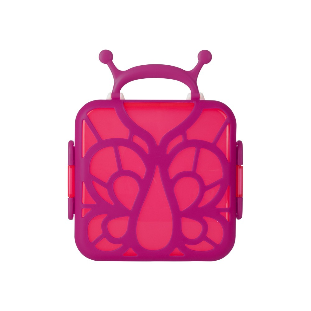 Image of Boon BENTO Lunch Box - Butterfly, Pink