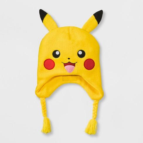 20aa9d385c5 Boys  Pokemon Pikachu Hat - Yellow One Size   Target