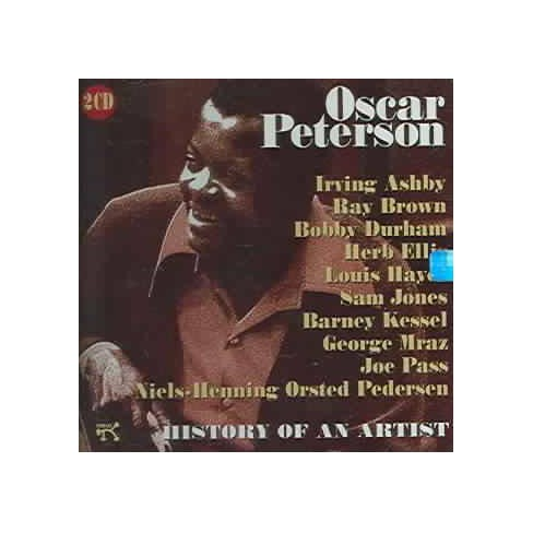 Oscar Peterson - History of Any Artist (CD) - image 1 of 1