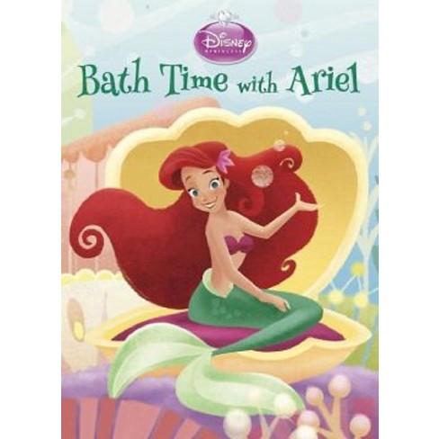 Bath Time with Ariel (Disney Princess) - (Board Book) by  Andrea Posner-Sanchez (Board_book) - image 1 of 1