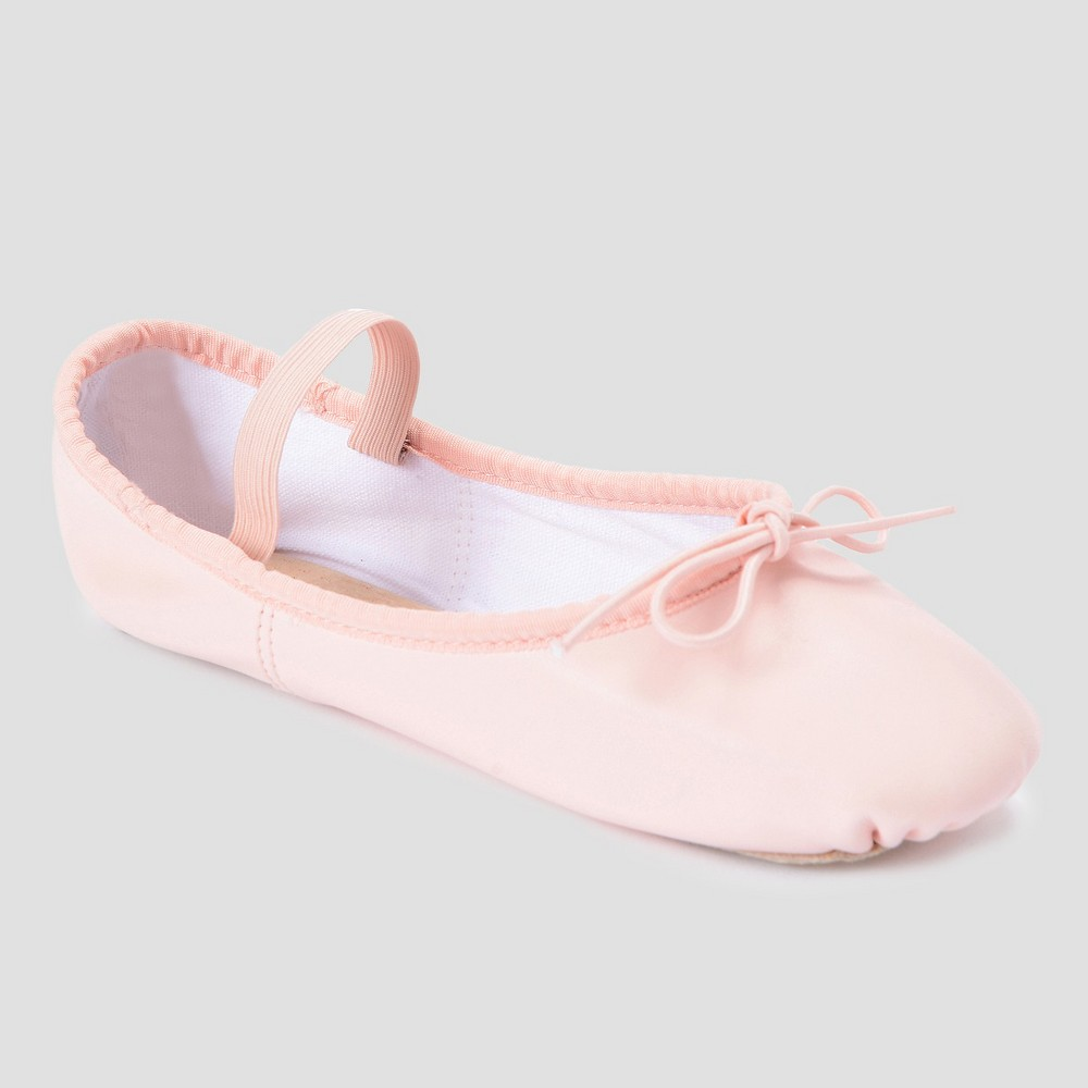Image of Freestyle by Danskin Girls' Ballet Slippers Ballet Pink 10, Girl's