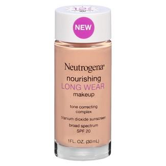 Neutrogena ® Nourishing Long Wear Liquid Makeup  - 20 Natural Ivory - 1oz