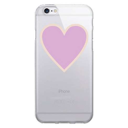 iPhone 6/6S Case - OTM Classic Prints Clear - Pink Heart Beat - image 1 of 1