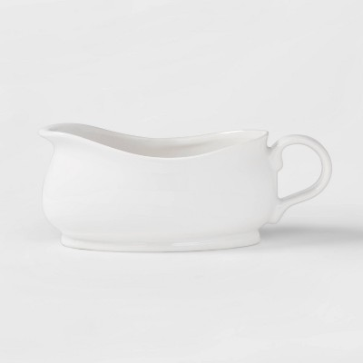 Porcelain Gravy Boat 20oz White - Threshold™