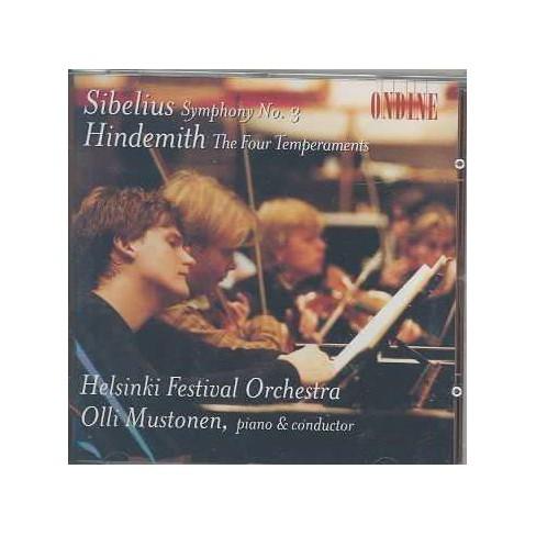 Sibelius: Symphony no 3;  Hindemith / Mustonen, Helsinki (CD) - image 1 of 1