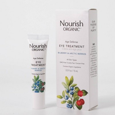 Nourish Organic Age Defense Eye Cream - 0.5 fl oz