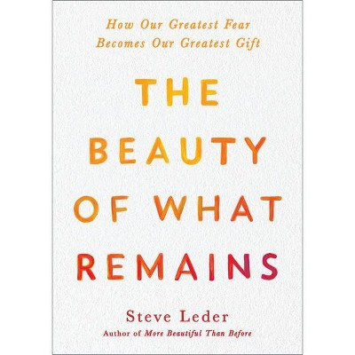The Beauty of What Remains - by  Steve Leder (Hardcover)