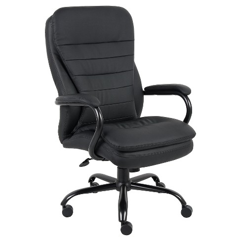 Heavy Duty Double Plush Caressoftplus Chair 350lbs - Boss Office Products - image 1 of 4