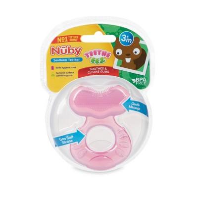 Nuby Stage 1 Teether - Pink