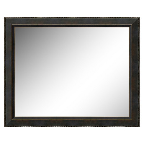 Rectangle Signore Decorative Wall Mirror Bark - Amanti Art - image 1 of 9
