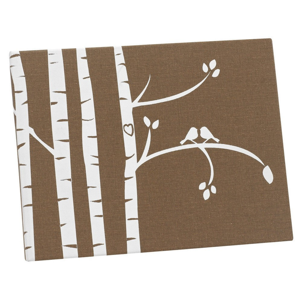 Image of Birch Tree Lovebirds Guest Book