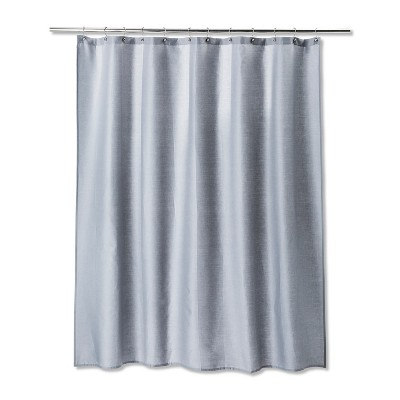 Solid Shower Curtain Gray Mist - Room Essentials™