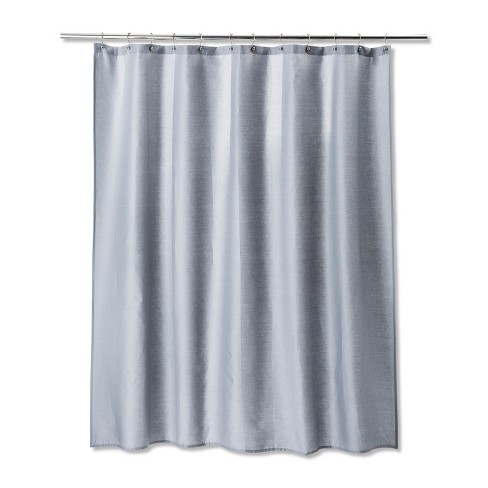 Solid Shower Curtain Gray Mist - Room Essentials™ - image 1 of 1