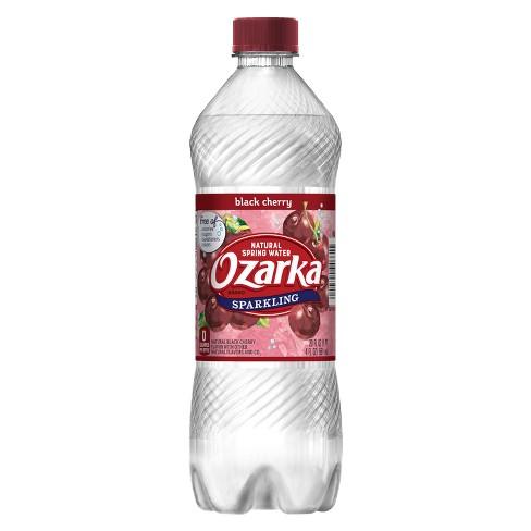 1ea126d1df Ozarka Black Cherry Sparkling Water - 20 Fl Oz Bottle : Target