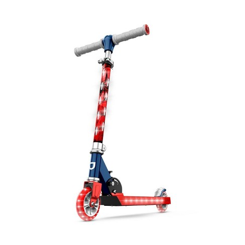 Jetson Disney Spider-Man 2 Wheel Kids' Kick Scooter - Red - image 1 of 4