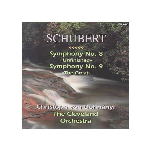 "Schubert - Schubert: Symphonies Nos. 8 (""Unfinished"") & 9 (""The Great"") (CD) - image 1 of 1"