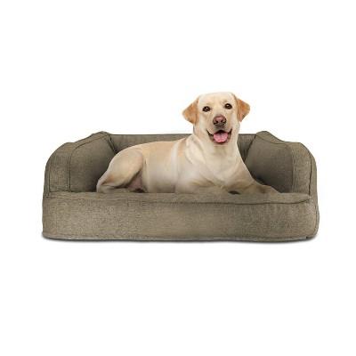 Canine Creations Sofa Rectangle Dog Bed - Walnut