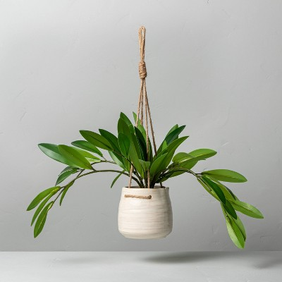 """9"""" Faux Hoya Leaf Hanging Plant - Hearth & Hand™ with Magnolia"""