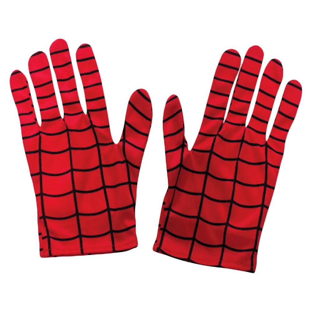 Spiderman Adult Gloves, Men's, Multi-Colored