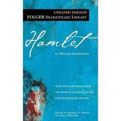 Hamlet - (New Folger Library Shakespeare) by  William Shakespeare (Paperback)