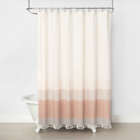 Ombre Shower Curtain Copper Hearth Hand With Magnolia Target