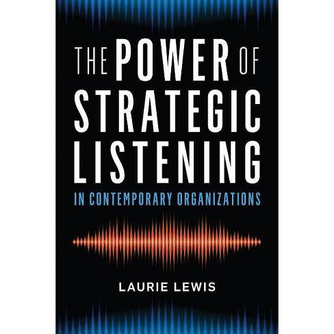 The Power of Strategic Listening - by  Laurie Lewis (Hardcover) - image 1 of 1