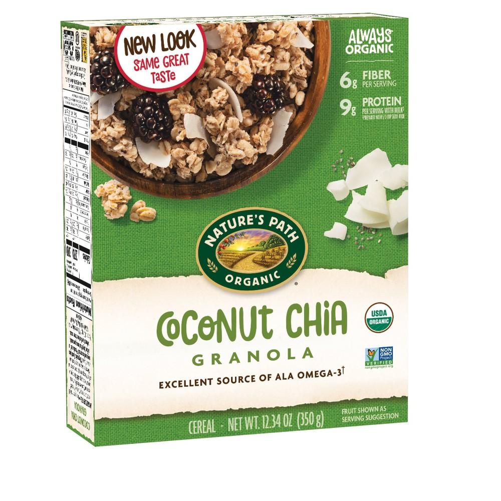 Nature's Path Organic Coconut Chia Granola Breakfast Cereal - 12.34oz