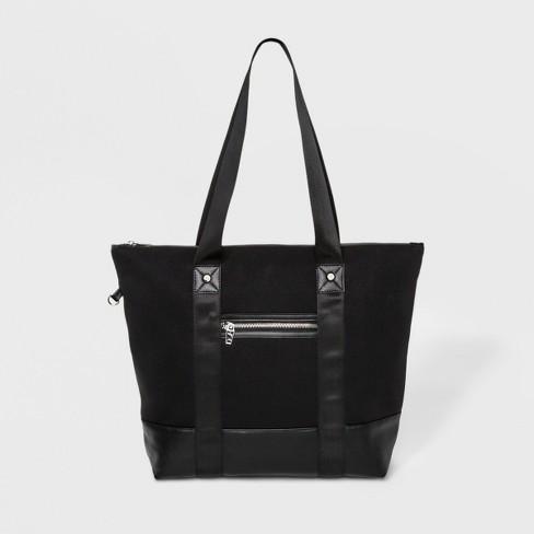 Neoprene Tote Handbag Joylab Black