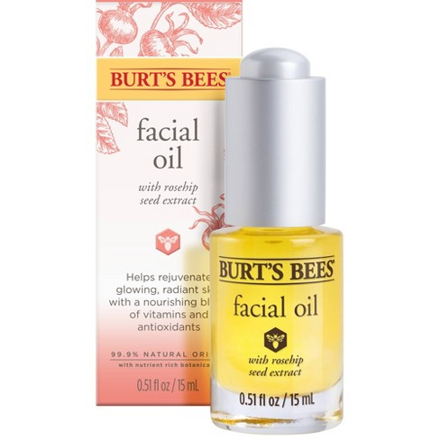 Burt's Bees Complete Nourishment Facial Oil - 0.51 fl oz - image 1 of 4