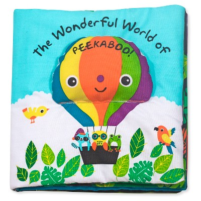 Melissa & Doug® Soft Activity Baby Book - The Wonderful World of Peekaboo!