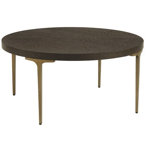 Dahlia 38 Round Coffee Table In Brown Universal Furniture