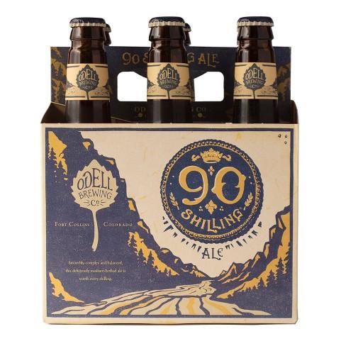 Odell 90 Schilling Ale Beer - 6pk/12 fl oz Bottles - image 1 of 1