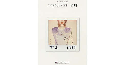 Taylor Swift 1989 (Paperback) - image 1 of 1