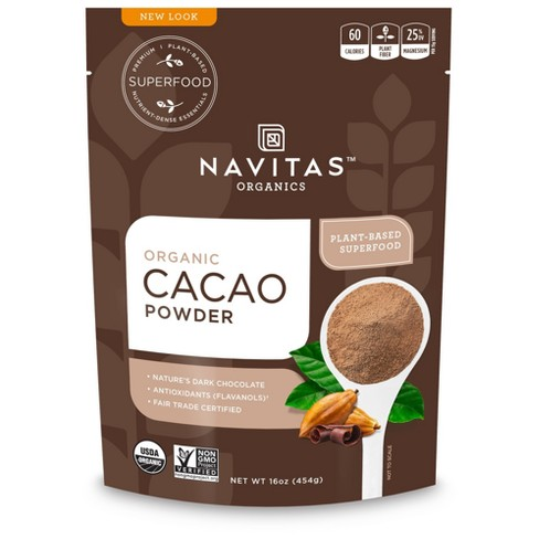 Navitas Naturals Organic Plant-Based Superfood Powder - Cacao Chocolate - image 1 of 1