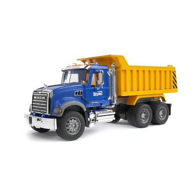 Bruder MACK Granite Dump Truck for Construction and Farm Pretend Play