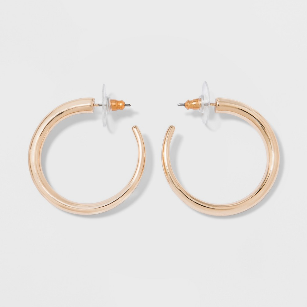Hoop Earrings - A New Day Gold