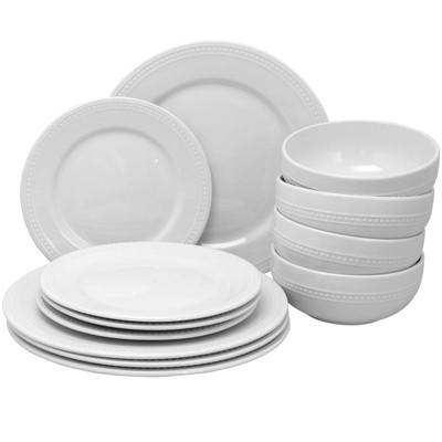 Gibson Home 12pc Ceramic Royal Palace Dinnerware Set