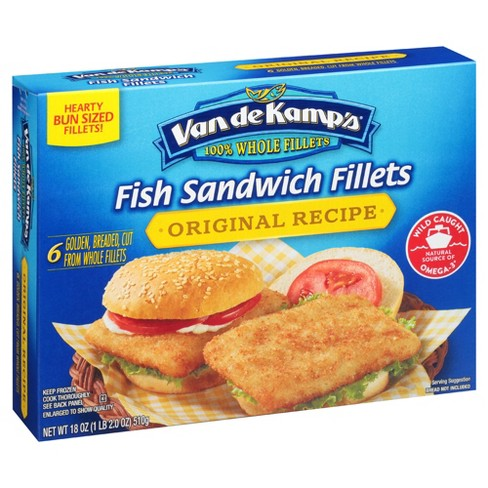 Van de Kamp's Sandwich Fillets - 18oz - image 1 of 1