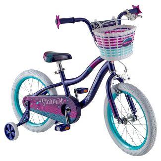 "Schwinn Starmist 16"" Kids' Bike - Navy"