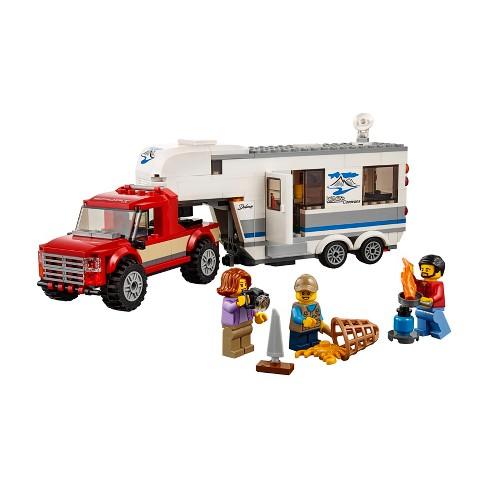 Lego City Great Vehicles Pickup Caravan 60182 Target