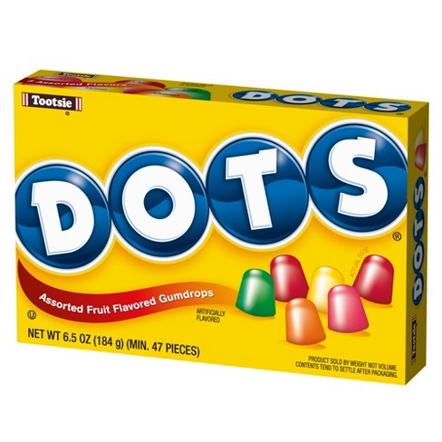 Dots Assorted Fruit Flavored Gumdrops 7oz Target