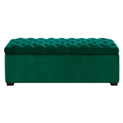 Carson Tufted Storage Ottoman - Picket House Furnishings