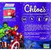Chloe's Marvel Avenger's Cherry & Grape Frozen Fruit pops - 10ct/15oz - image 3 of 4