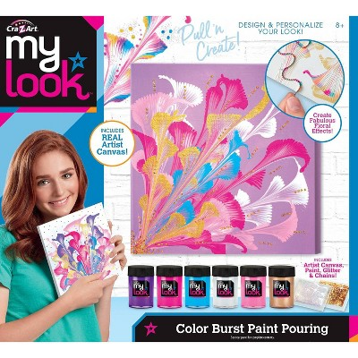 My Look Color Burst Paint Pouring Kit By Cra Z Art Brickseek