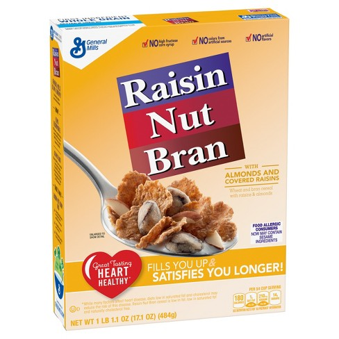 Raisin Nut Bran Breakfast Cereal - 17.1oz - General Mills - image 1 of 4