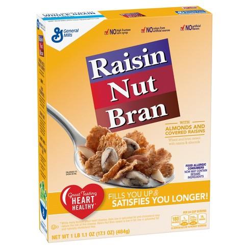 Raisin Nut Bran Breakfast Cereal - 17.1oz - General Mills - image 1 of 4
